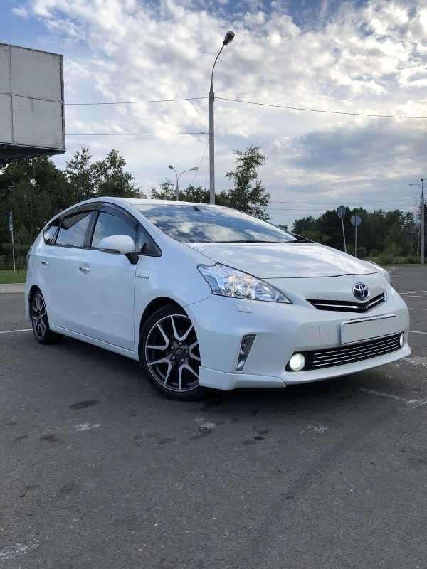 Toyota Prius a, 2014 год, 895 000 руб.