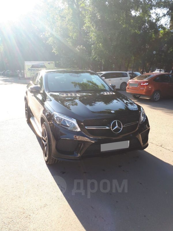 Mercedes-Benz GLE Coupe, 2016 год, 5 000 000 руб.