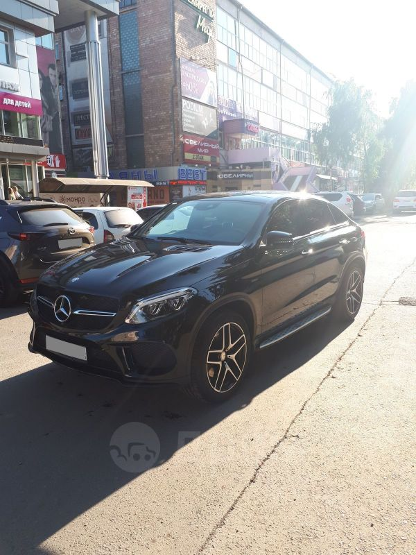 Mercedes-Benz GLE Coupe, 2016 год, 4 850 000 руб.