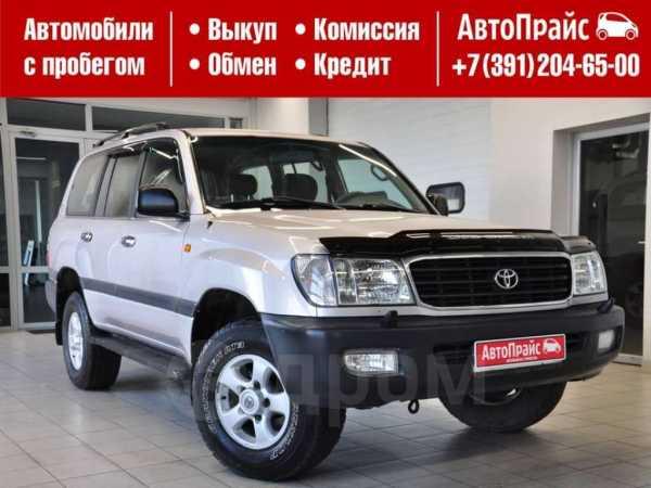 Toyota Land Cruiser, 2002 год, 1 235 000 руб.