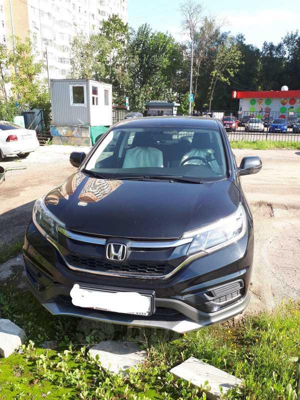 Honda CR-V, 2016 год, 1 650 000 руб.