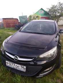 Opel Astra, 2012 г., Омск