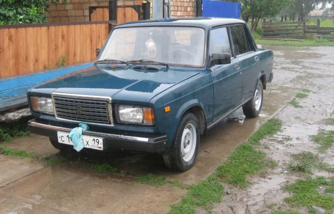 Лада 2107, 2001 год, 68 000 руб.
