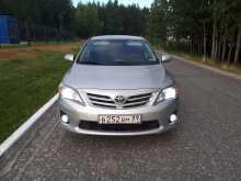 Ноябрьск Corolla 2012