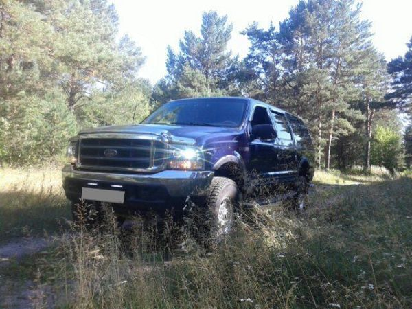 Ford Excursion, 2000 год, 1 330 000 руб.