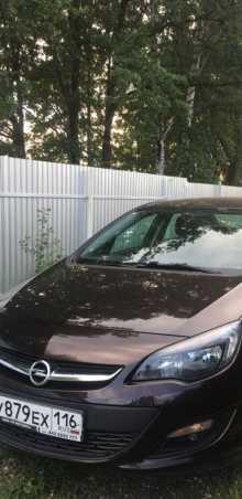 Казань Opel Astra 2014