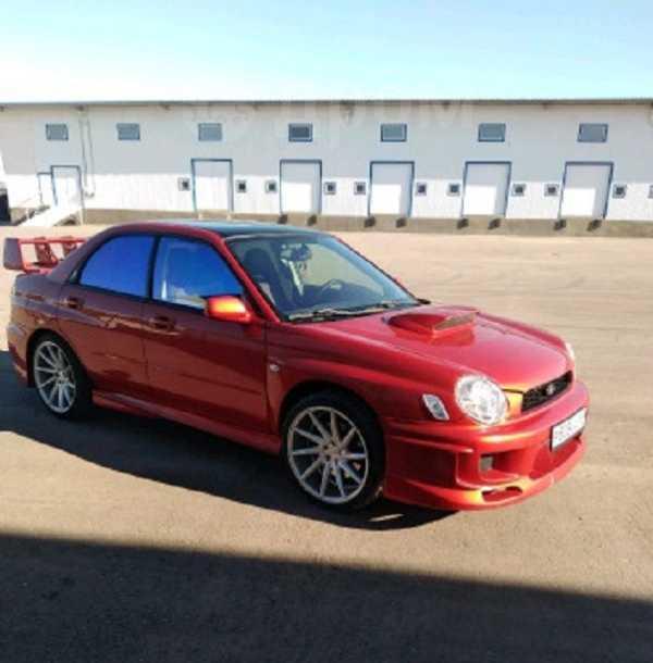 Subaru Impreza, 2002 год, 500 000 руб.