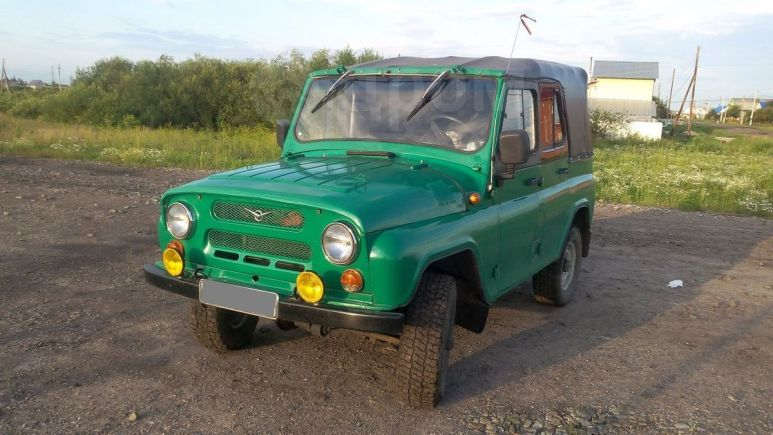 УАЗ 469, 1988 год, 125 000 руб.