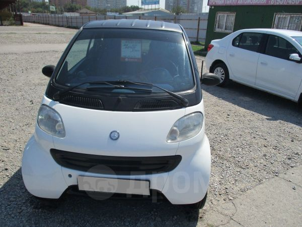 Smart Fortwo, 2000 год, 185 000 руб.