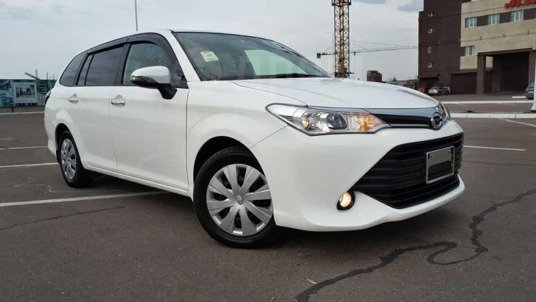 Toyota Corolla Fielder, 2016 год, 862 000 руб.