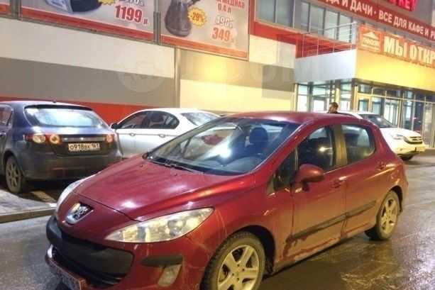 Peugeot 308, 2008 год, 395 000 руб.
