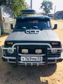 Усть-Баргузин 4x4 2121 Нива 1988