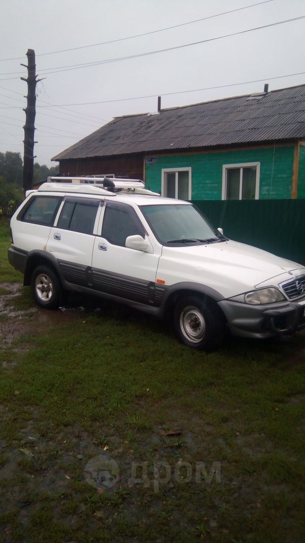 SsangYong Musso, 2002 год, 240 000 руб.