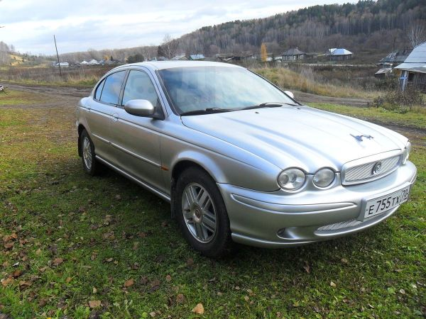 Jaguar X-Type, 2001 год, 250 000 руб.