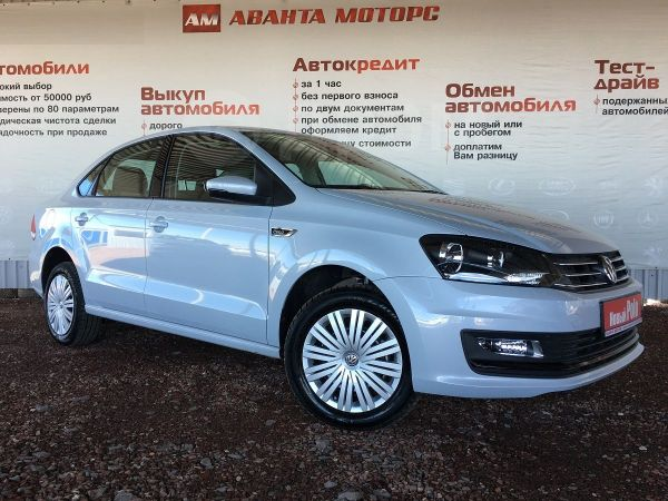 Volkswagen Polo, 2018 год, 734 900 руб.