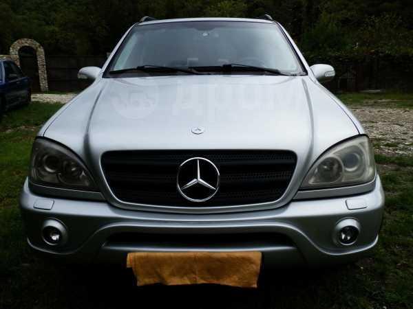 Mercedes-Benz M-Class, 2002 год, 450 000 руб.