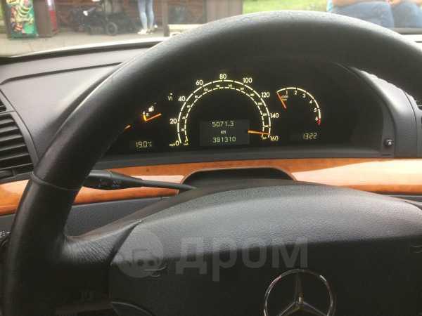 Mercedes-Benz S-Class, 2002 год, 290 000 руб.