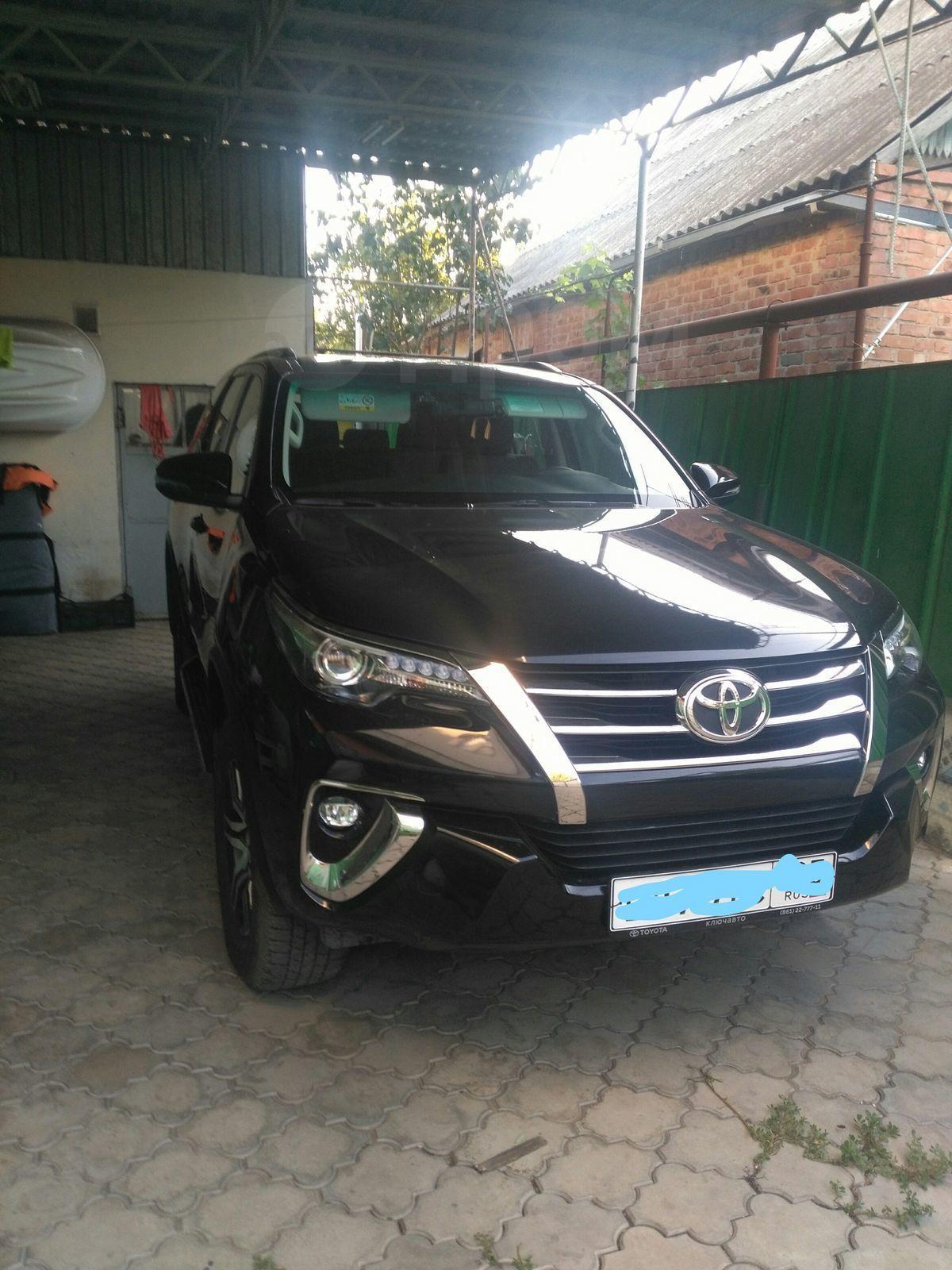 Toyota Fortuner 2017 года в Краснодаре, Почти новый автомобиль ... 20b9d8c939a