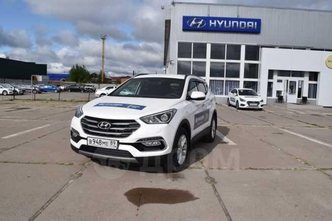 Hyundai Santa Fe, 2017 год, 1 965 000 руб.