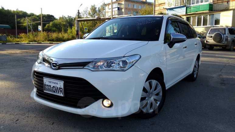 Toyota Corolla Fielder, 2016 год, 835 000 руб.