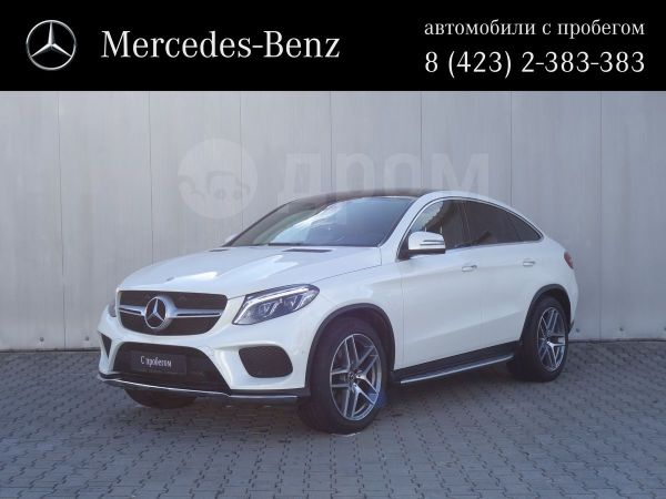 Mercedes-Benz GLE Coupe, 2017 год, 5 300 000 руб.
