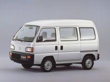 Honda Acty рестайлинг 1990, цельнометаллический фургон, 2 поколение
