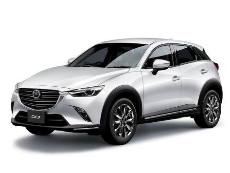 Mazda CX-3 (DK) 03.2018 -  н.в.