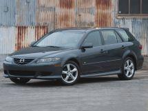 Mazda Mazda6 2002, универсал, 1 поколение, GG