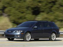 Mazda Mazda6 рестайлинг 2005, универсал, 1 поколение, GG