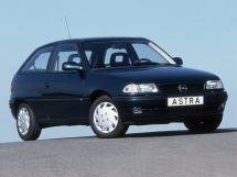 Opel Astra рестайлинг 1994, хэтчбек 3 дв., 1 поколение, F