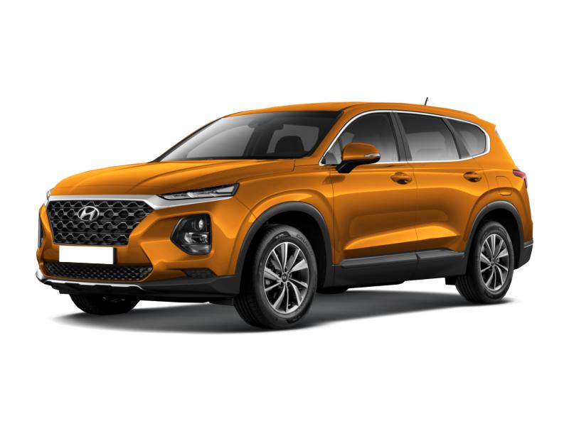Hyundai Santa Fe, 2019 год, 2 484 000 руб.