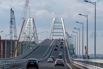 За7,5 месяца поКрымскому мосту проехало больше машин чем напароме задва года