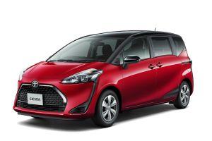 Базовая Toyota Sienta стала пятиместной и подешевела после обновления