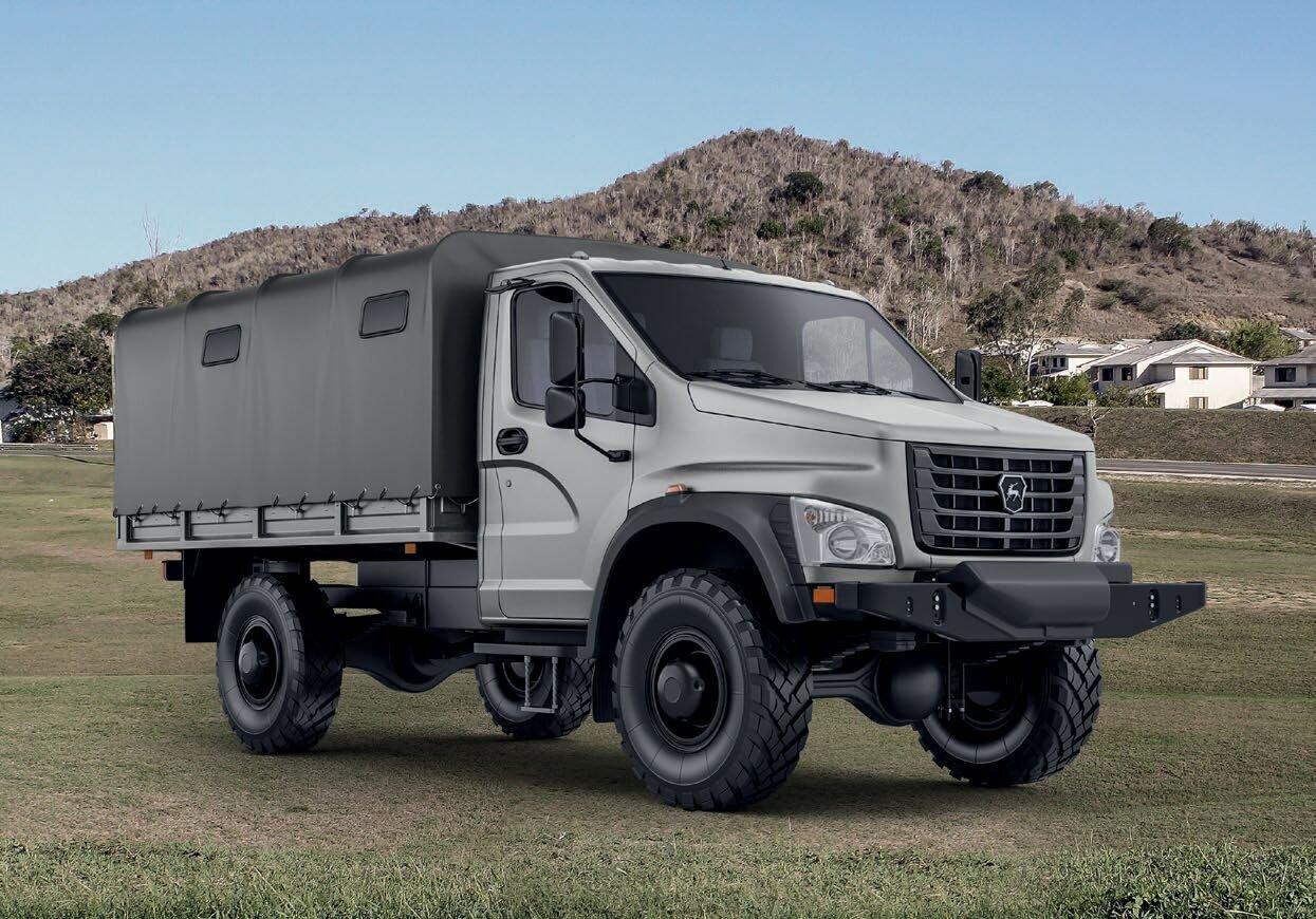 ГАЗ показал в Германии предсерийную версию нового «Садко»
