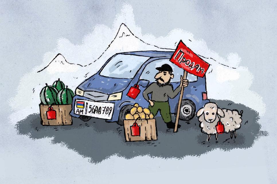Бизнес на авто из армении и абхазии