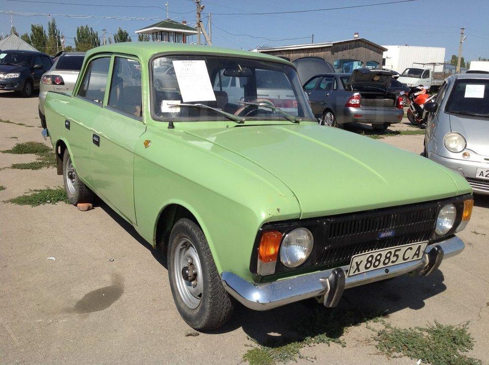 Москвич 412, 1991 год