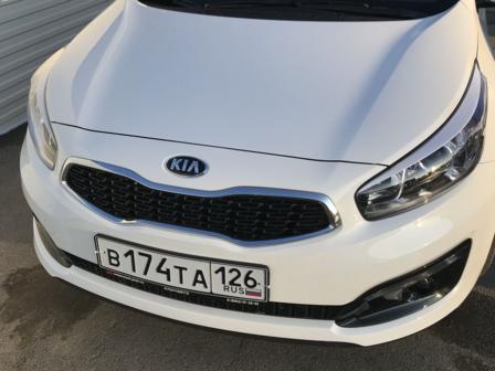 Kia Ceed 2017 - отзыв владельца