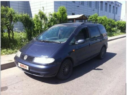 Volkswagen Sharan 1998 - отзыв владельца