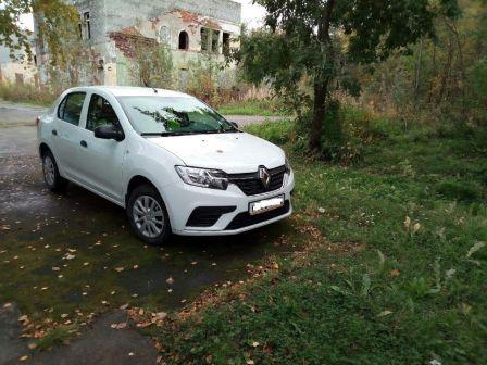 Renault Logan 2018 - отзыв владельца