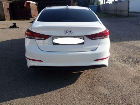 Hyundai Elantra 2017 - отзыв владельца