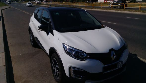 Renault Kaptur 2017 - отзыв владельца