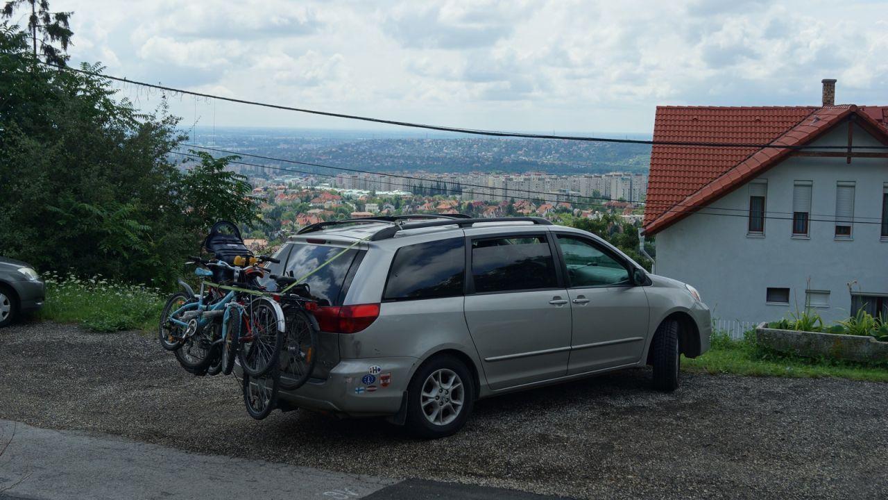 Будапешт, вид сверху