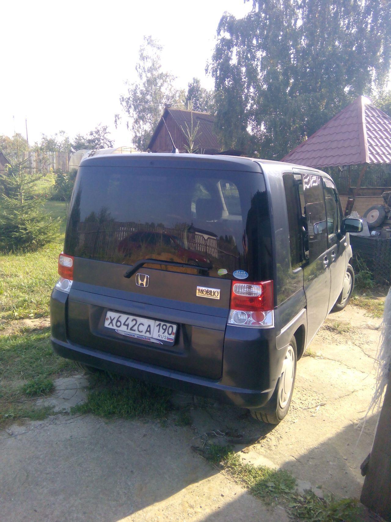 Honda Mobilio 2006, 1.5 литра, Привет всем любителям японцев, CVT, расход 8.0, бензин