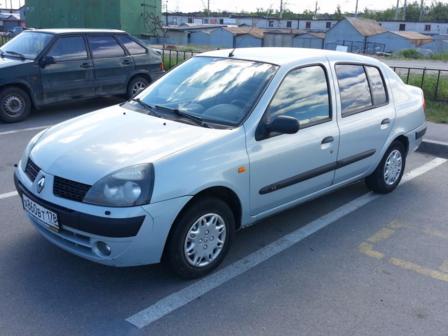 Renault Symbol 2002 - отзыв владельца