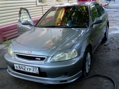 honda civic, 2002 1.6ат 4wd отзывы