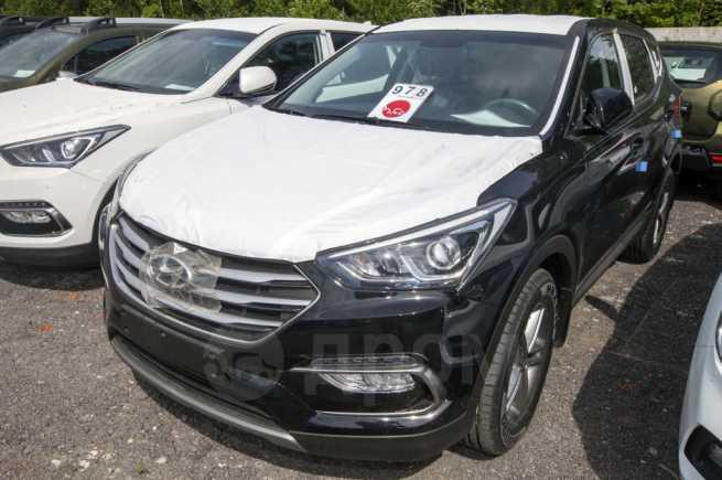 Hyundai Santa Fe, 2018 год, 2 009 000 руб.