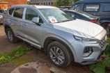 Hyundai Santa Fe. PLATINUM SILVER_СЕРЕБРИСТЫЙ (T8T)