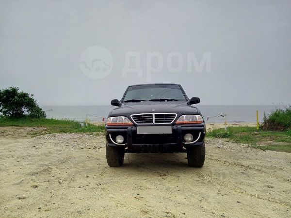 SsangYong Musso Sports, 2006 год, 505 000 руб.