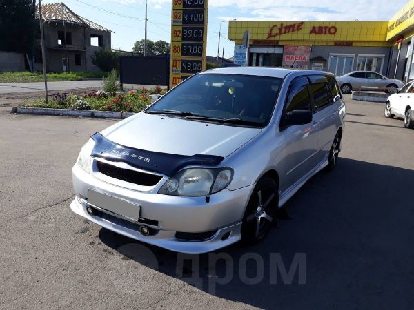 Toyota Corolla Fielder, 2002 год, 410 000 руб.