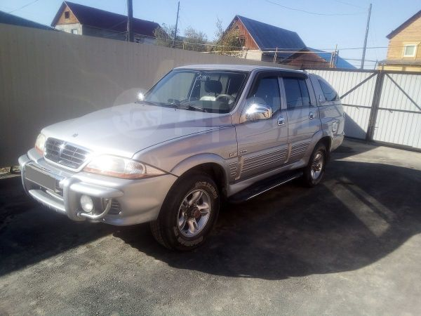SsangYong Musso Sports, 2005 год, 500 000 руб.